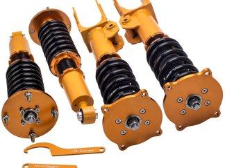 Coilovers Kit for Porsche Cayenne Base Sport Utility 4-Door 3.2L 2004-2006 4.8L Shocks Strut