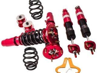 24 Ways Adjustable Damper Coilovers Shock Absorber For BMW E46 3 Series 320i 325i 328i 330i M3 1998-2006