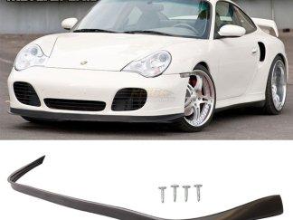 Fit For Porsche 996 911 4S Coupe Turbo OE Style No Hole Carrera Front Bumper Lip Spoiler