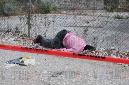 Hallan cadáver en un callejón de Tuxtla