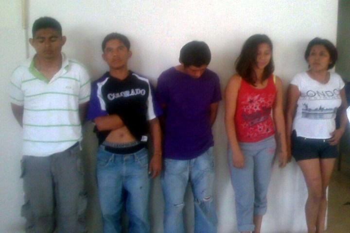 Desarticulan banda que asaltaba taxistas en Tuxtla