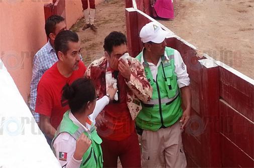 Tres heridos en corrida de toros