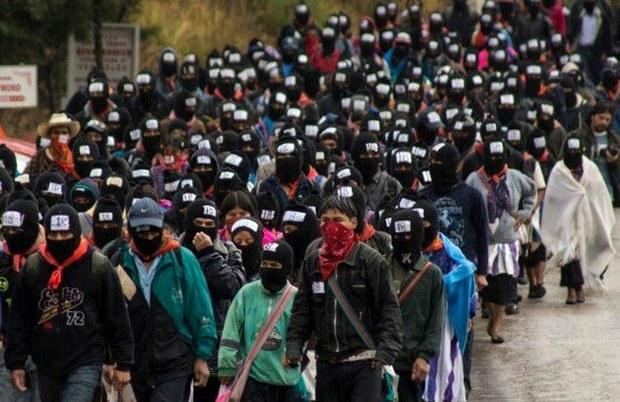 """Cuestiona EZLN métodos de lucha ante """"catástrofe"""" que se avecina"""