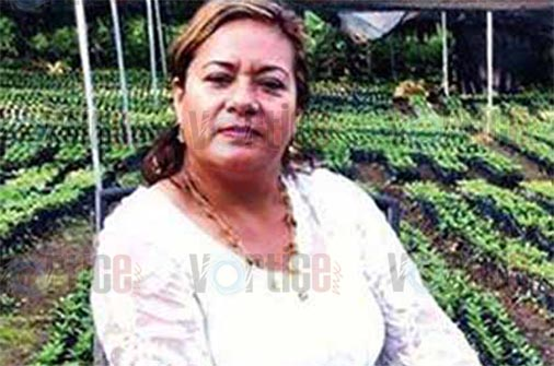 Muere en accidente candidata a la alcaldía de Cacahoatán