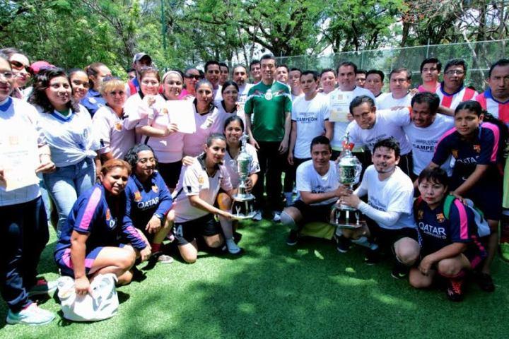 Clausura Rutilio Escandón torneo de futbol del TSJ