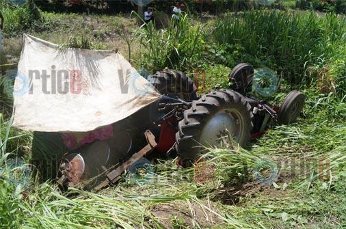 Muere tapachulteco aplastado por un tractor