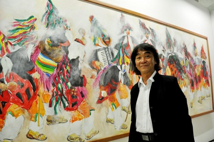 Inaugura Coneculta la exposición de AKio Hanafuji
