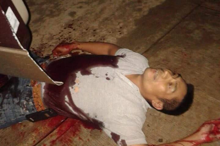 Asesinan a perredista en Pueblo Nuevo