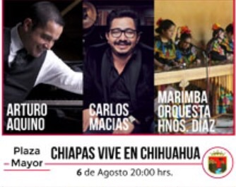 Chiapas, estado invitado en el 11 Festival Internacional de Chihuahua