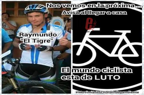 """Muere joven ciclista de montaña en competencia """"Reto Patrio"""""""