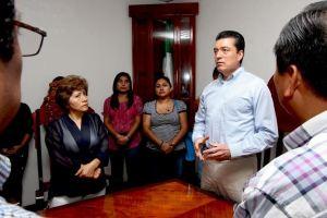 Destaca Rutilio a Manuel Velasco y Leticia Coello,  en el tema de justicia
