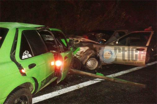 Un muerto y ocho heridos en la autopista SCLC-Tuxtla