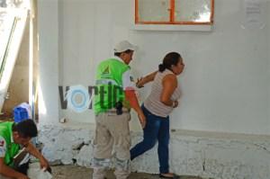 Tres personas lesionadas en violento asalto a SMAPA