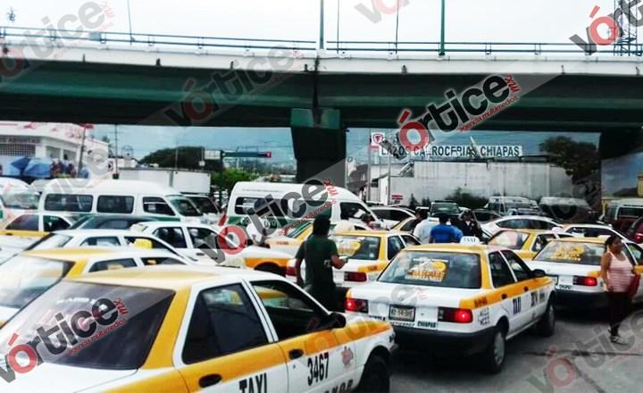 Difunden rutas alternas por bloqueos realizados en Chiapas
