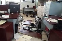Sospechoso ataque a la Secretaría de Educación_2