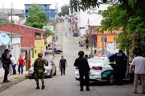 Se desata balacera en intento de secuestro; dos policías resultaron heridos