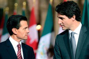 No caeremos en provocaciones de la CNTE, advierte Peña desde Canadá