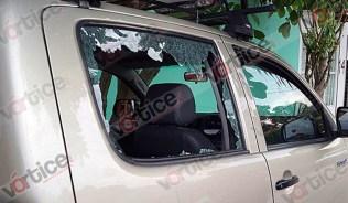 Disparan contra camioneta en intento de asalto_4