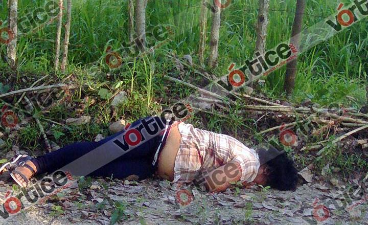 Feminicidio en Tuzantán; abandonaron su cadáver con dos balazos