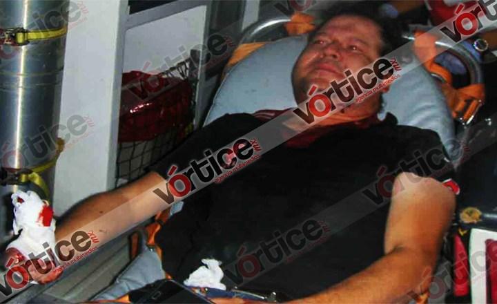Machetean a peatón durante asalto en Tuxtla