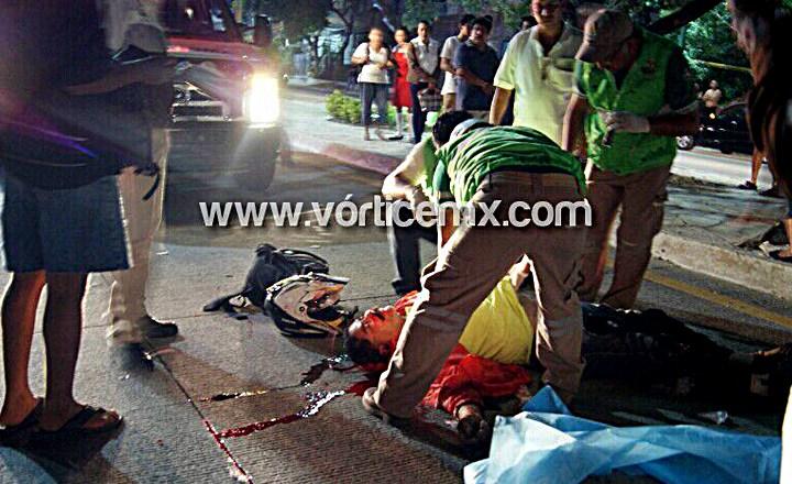 Hallan a motociclista muerto en el Libramiento de Tuxtla