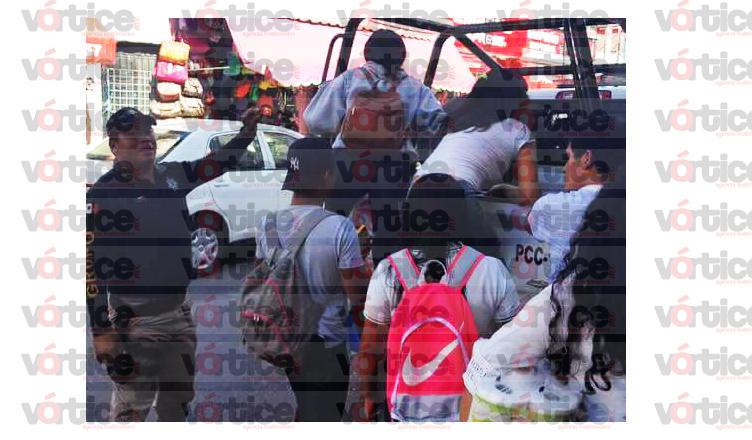 policías-transporte