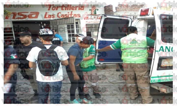 Acuchillan a jovencito en un asalto en la colonia Las Casitas