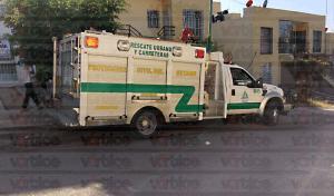 Flamazo provoca pánico en una familia en Tuxtla