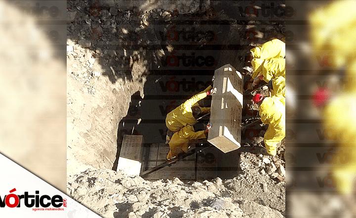 Cadáveres eran traídos del Semefo de Tuxtla; colonos critican la falta de salubridad