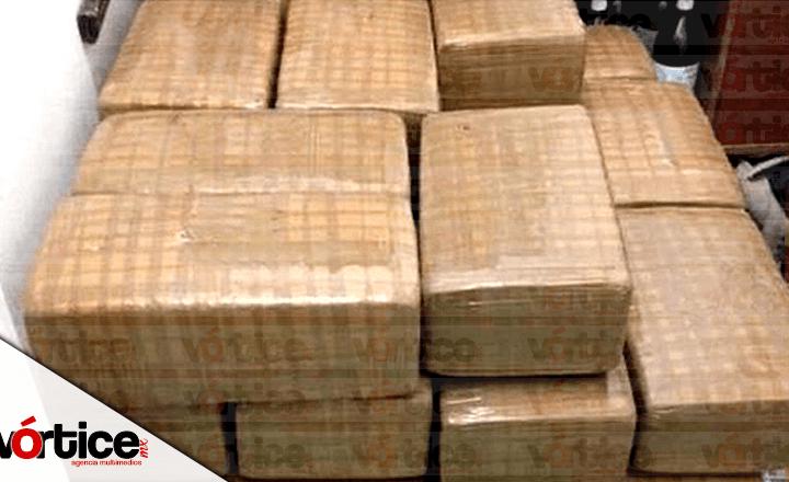 Decomisan casi media tonelada de cocaína en retén militar de Chiapas
