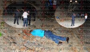Encuentran cadáver sobre camino de terracería en la Francisco I Madero