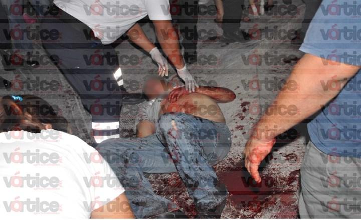 Quiso suicidarse dándose un disparo en el rostro en Chiapa de Corzo