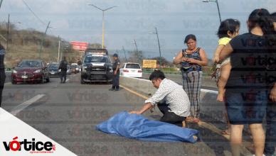 Muere joven tras salir proyectado de la góndola de una camioneta en Chiapa de Corzo