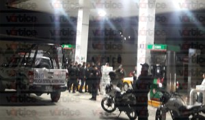 Asaltan gasolinera en Tuxtla; se llevan casi 30 mil pesos