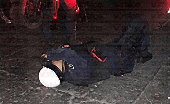Atropellan a una agente de la Policía Fuerza Ciudadana en Tuxtla