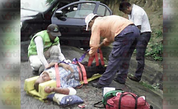 Carreterazo en Arriaga deja tres muertos y dos heridos