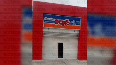 Roban en tienda Duno en Tuxtla y se llevaban 18 mil pesos