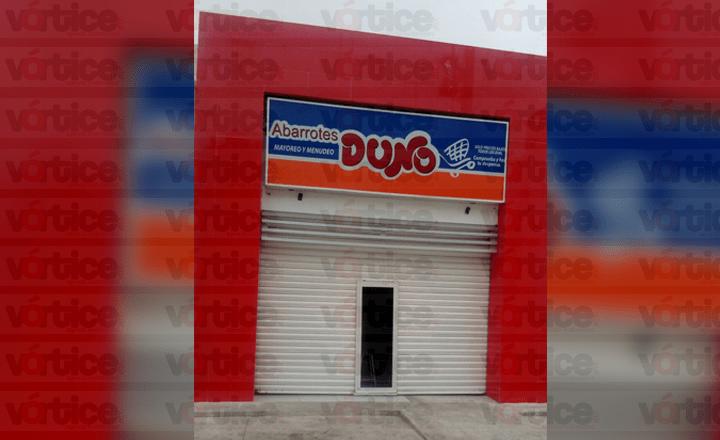 Roban en tienda Duno y se llevaban 18 mil pesos