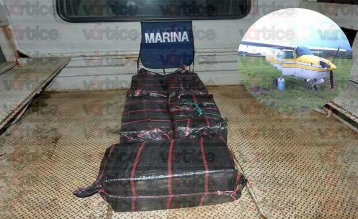 Decomisa SEDENA 95 kilogramos de cocaína en Mapastepec