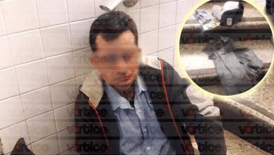 Detienen a maestro de primaria por presunto intento de robo en Soriana Poliforum