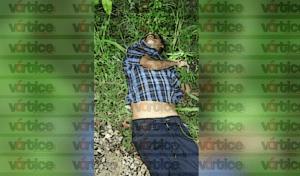 Hallan cadáver de un hombre a orilla de la carretera en Salto de Agua