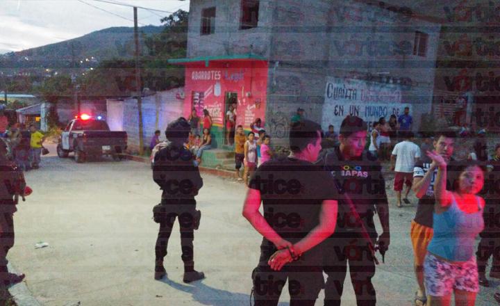 Policías de la SSyPC incitan a la violencia contra la prensa en Tuxtla