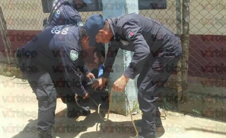 Casi linchan a un hombre tras intentar violar a una jovencita en Bochil