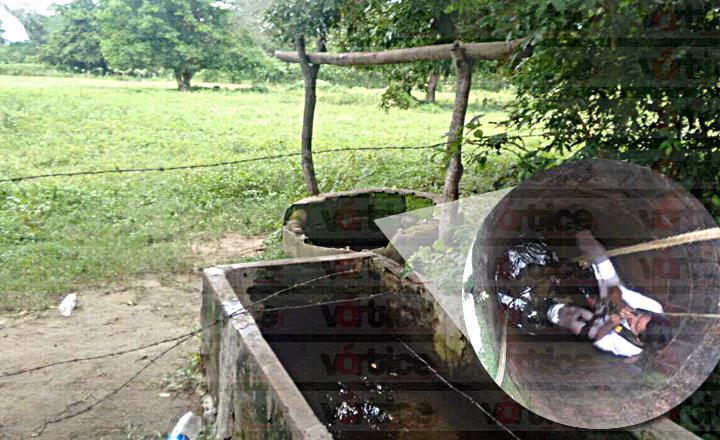 Muere ancianito al caer a un pozo de más de cinco metros en Tonalá