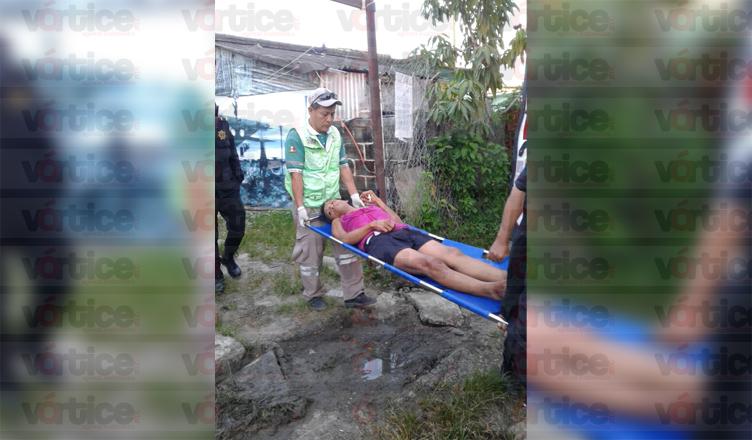 Taxista asalta y acuchilla a su pasajero en la colonia CCI de Tuxtla