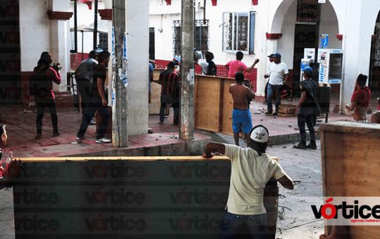Chiapacorceños en alerta tras detención de manifestantes
