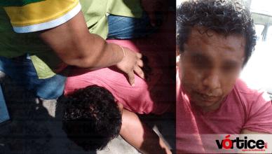 Detienen a joven tras asaltar al encargado de una papelería en Tuxtla