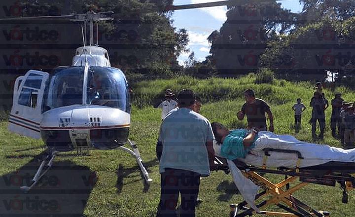 Hallan restos del helicóptero extraviado en Chiapas; se desplomó en Tuzantán