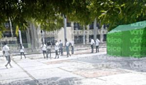 Integrantes de la CENECH toman la Secretaría de Educación, en Tuxtla
