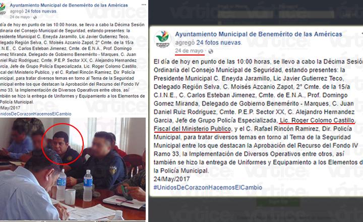 Señalan incongruencias de la FGE ante caso Roger Colomo, agresor del vigilante